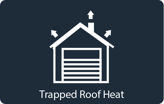 Trapped Roof Heat